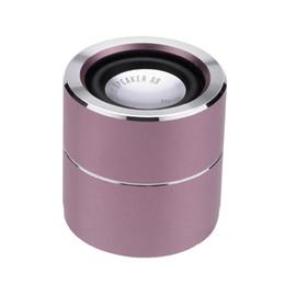 Mini Speaker Player Australia - Portable Mini Bluetooth Speaker BT Wireless Speakers HandsFree Built-in Microphone Music Player Stereo Sound Box Loudspeaker For Smartphone