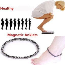 $enCountryForm.capitalKeyWord Australia - DHL Women Fashion Foot Bead Chain Magnetic Therapy natural Stone Ankle Bracelet Beach Barefoot Sandal Foot Anklet