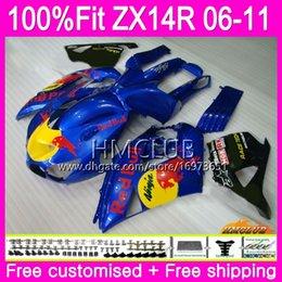 $enCountryForm.capitalKeyWord Australia - Injection For KAWASAKI NINJA ZX 14R 1400 ZX14R 06 07 08 09 10 11 72HM.25 ZZR1400 ZX-14R 2006 2007 2008 2009 2010 2011 Fairing Blue yellow