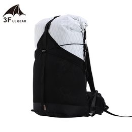 $enCountryForm.capitalKeyWord NZ - 3F UL GEAR 35L Lightweight Durable Travel Camping Hiking Backpack Outdoor Ultralight Frameless Packs XPAC & UHMWPE