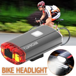 $enCountryForm.capitalKeyWord Australia - Outdoor Bike Light Waterproof Mountain Bike Headlights USB Chargeable Super Bright Fits All Bicycles Riding Device Cycling Torch