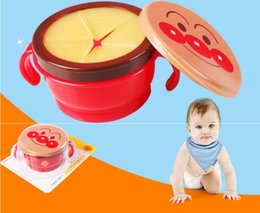 spill proof bowl dishes NZ - Baby Feeding Infants Kid Spill-Proof Bowl Dishes Tableware Baby Snack Bowl Food Container Feeding Children Assist Food box Bread Superman