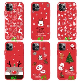 apple christmas sales NZ - Hot Sales 2019 Christmas New Design Light Soft TPU Cases for IPhone 11 Pro X XS Max Anti-knock Phone Full Protect Cover Shockproof Cases