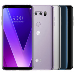 lg inch cell phone NZ - Refurbished Original LG V30 H930 H931 6.0 inch Octa Core 4GB RAM 64GB ROM 16MP Unlocked 4G LTE Smart Mobile Cell Phone Free DHL 1pcs