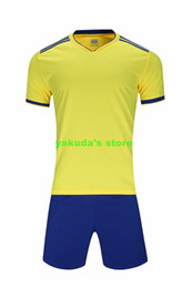 Wholesale new xxxl sport jersey for sale – plus size 2019 new men adult stripes painting training running football soccer short sleeve sport jersey set loose plus size customized Soccer Sets