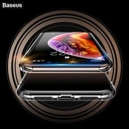 Baseus Cases Australia - Baseus Anti-knock Phone Case For iPhone Xs XR Xs Max Coque Soft TPU Silicone Cover For iPhone Xsmax XR Xs Protective Back Case
