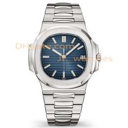 Luxo mens novo calendário mecânico automático de 40mm relógio de aço inoxidável dos homens de negócios luminosa de mergulho à prova d 'água 30 M relógio venda por atacado