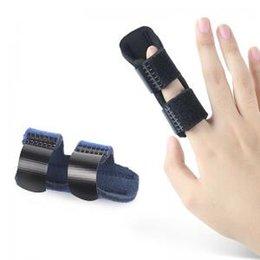 Спорт палец тутор баскетбол палец гвардии группа поддержки Wrap Fingerstall Protector эластичный группа пальцы защитная экипировка 2COLORS LLA123