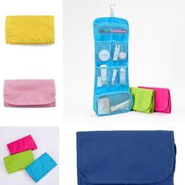 $enCountryForm.capitalKeyWord Australia - Best selling new fashion travel Storage Bags waterproof wash handbag Organizer Oxford cloth white collar cosmetic bag T7D5025
