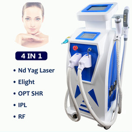 rf ipl laser elight machines NZ - IPL laser facial rejuvenation skin pigment removal machine multi-functional IPL Elight Vascular Veins RF Nd yag Laser hair tattoo removal