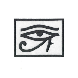 $enCountryForm.capitalKeyWord Australia - eye of horus biker ref2 backpack Computer embroidered patch iron sew on badge Stickers Apparel Accessories patch