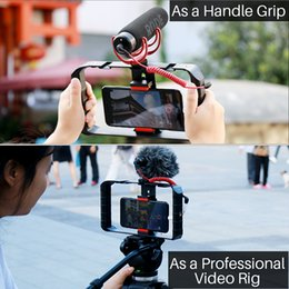grip video UK - hoto Studio Accessories Ulanzi U-Rig Pro Smartphone Video Rig 3 Shoe Mounts Filmmaking Handheld Video Stabilizer Grip Tripod Mount youtu...