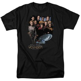 Discount star trek shirts - Star Trek VOYAGER CREW Licensed Adult T-Shirt All Sizes Men Women Unisex Fashion tshirt Free Shipping