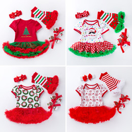 $enCountryForm.capitalKeyWord Australia - Hand Made 2019 New Year Christmas Dress For New Born baby Girl Lovely Red Color Tutu Dress Infnat Girls Beautiful Santas Clothes