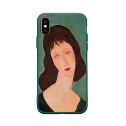 $enCountryForm.capitalKeyWord UK - Hot Top Simple Art student illustration Crashproof Back Cover TPU Cell Phone Cases Protective Covers For iPhone X XR XS MAX 6 6S 7 8 PLUS