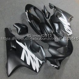 Honda F4 Australia - 23colors+Custom Injection mold black motorcycle cowl for HONDA CBR600F4 1999-2000 CBR 600 F4 ABS motorcycle Fairings