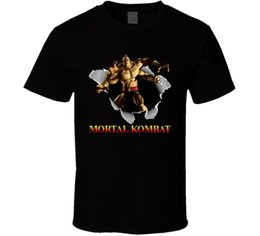 Mortal Kombat Retro Video Game T Shirt
