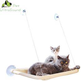 $enCountryForm.capitalKeyWord NZ - Cute Pet Hanging Beds Bearing 15kg Cat Sunny Seat Window Mount Pet Cat Hammock Comfortable Cat Pet Rest Bed