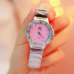 $enCountryForm.capitalKeyWord Australia - BS New Korea Hot Chain Watch High-end Bracelet Watch Custom Full Diamond Women's Watch FA1225