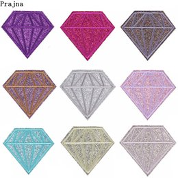$enCountryForm.capitalKeyWord Australia - Prajna Bling Diamond Patches Gold Powder Rhinestone Embroidered Iron On Patches For Clothes Bag DIY Ironing Patch Wholesale F