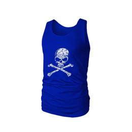 a579c00286a287 2019 gym vest Skull cotton bodybuilding clothing Super Saiyan workout  singlet fitness vestsleeveless shirt