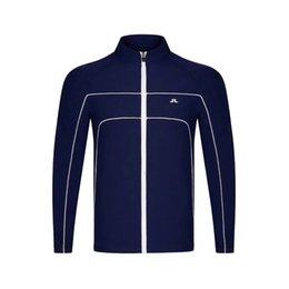 Automne Golf Golf sport hommes JL hommes / hiver plus de velours Veste coupe-vent tourbillonnant veste S-3XL Option Livraison gratuite en Solde