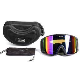 $enCountryForm.capitalKeyWord Australia - Three-layer protective ski goggles anti-UV400 double-layer lens anti-fog Unisex goggles big ski mask for skiing cycling