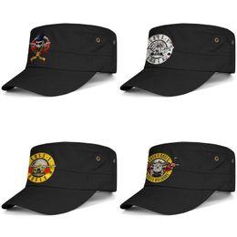 $enCountryForm.capitalKeyWord Australia - Guns N' Roses logo army twill baseball cap organic Cotton daily necessities military harley davidson Floral Fill Bullet N'Roses Skull