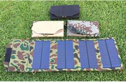 Paquete de carga plegable portátil solar Cargador para exteriores con panel de cargador solar para teléfono móvil Paquete de carga solar de polisilicio PET 6W en venta
