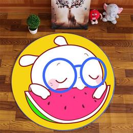 $enCountryForm.capitalKeyWord Australia - Nordic Round Cartoon Carpet Home Living Room Child Game Chair Carpets Bedroom Bedside Blanket Rug Study Yoga Tent Teppich Mat