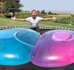 $enCountryForm.capitalKeyWord Australia - Amazing Bubble Ball Funny Toy Water-filled TPR Balloon For Kids Adult Outdoor wubble bubble ball Inflatable Toys 50pcs