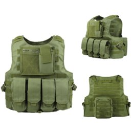 combat molle vest Australia - Tactical Vest Army Vest Equipment Molle Combat Assault Outdoor CS Hunting Paintball Camouflage Clothing
