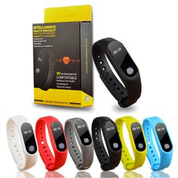 fitness monitor sleep tracker bluetooth bracelet Australia - M2 Smart Bracelet Heart Rate Monitor bluetooth Smartband Health Fitness Tracker Smart Band Wristband for Android iOS 09