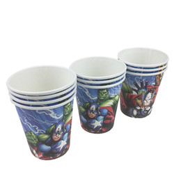 8d9795ed9 10pcs lot Disposable paper Cups Birthday Party Decorations Kids Baby Shower  Supplies Party Favors Kids Birthday