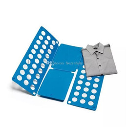 Shirt Folders Australia - Clothes Folding Board Magic Fast Speed Folder Multi Functional Shirts Folding Board for Kids Children Garment cc196-2032018060202