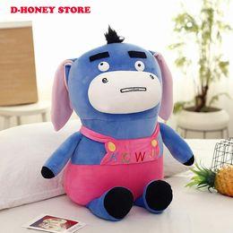 $enCountryForm.capitalKeyWord Australia - 35cm 50cm Donkey Plush toy Soft Stuffed Animal Dolls for children Birthday Gifts cartoon plush toys
