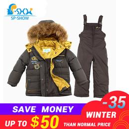 $enCountryForm.capitalKeyWord Australia - SP-SHOW -30 degrees SP-SHOW Winter 90% White down suit nature fur hat Thick Warm Down suit For 2-6