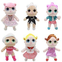 $enCountryForm.capitalKeyWord NZ - 25CM LoL Doll with feeding bottle American plush toy Kawaii Children Toys Anime Action Figures Realistic Reborn Dolls for girls kids toys