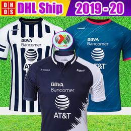 0decdff9a DHL Free Shipping 2018 2019 Monterrey Soccer Jerseys 18 19 Home Away Third  Thailand Quality LIGA MX Sanchez HURTADO Football shirts