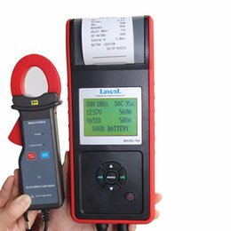 Micro Oil Australia - Lancol 12V Car-detector battery load tester with printer MICRO-768A  Car battery analyzer Auto battery Diagnostic Tool