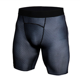 men s compression shorts NZ - Quick Dry Sports Leggings For Men Jogging Compression Tights Running Shorts Crossfit Short Pants Underwear Plus Size S-3XL