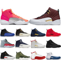 special basketball NZ - Special Offer 12 12s men basketball shoes Game Ball Royal Hot Punch Gym red black white Bulls outdoor mens trainers sports sneakers