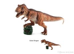 $enCountryForm.capitalKeyWord Australia - New Hot Sale Plastic Jurassic Period Tyrannosaurus Rex Model Simulation Dinosaur Toys Dolls