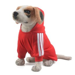 cheap wholesale winter sweaters Canada - Cute Pet Dog Cat Vest Clothes Small Sweater Puppy Soft Coat Jacket Summer Apparel Cartoon Clothing T-Shirt Cheap Jumpsuit Outfit Pet Supply