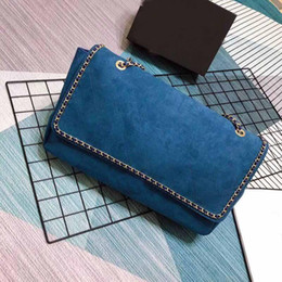 $enCountryForm.capitalKeyWord NZ - 2019 new Deluxe bag Classic designer bag Suede of the fashionable large-capacity leather one-shoulder can obliquely carry the bag number
