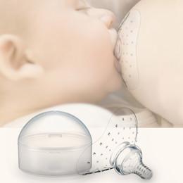 1PC Silikon-Nippel-Schützer Fütterung Mütter Brusthütchen Schutzhülle Stillende Mutter Milch Silikon-Nippel im Angebot