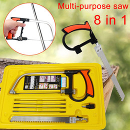 Wholesale Multi Purpose Hobby Tool in Mental Magic Saw Hacksaw DIY Hand Saw for Woodworking Saws Set Kit LAD sale