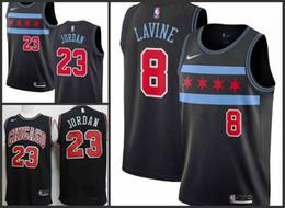 Fit bull online shopping - 2018 Chicago Men Bulls Jersey Michael JD Zach LaVine Lauri Markkanen City Edition Jerseys