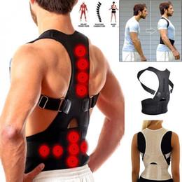 $enCountryForm.capitalKeyWord Australia - Adjustable Adult Body Shaping Posture Corrector Belt Support Back Shoulder Brace Strap for Improving Round Shoulder Hunchback T190619