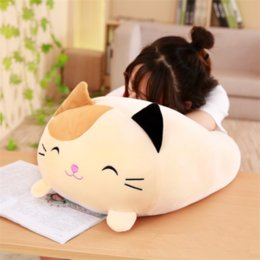 fat cat doll Canada - 30CM Soft Animal Cartoon Pillow Cushion Cute Fat Dog Cat Totoro Penguin Pig Frog Plush Toy Stuffed Lovely kids Birthyday Gift